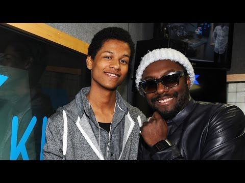Will.I.Am & Cody Wise at KISS FM (UK)