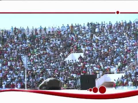 Arrivée des Etalons à Ouagadougou