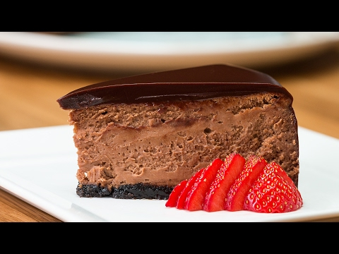 chocolate-mousse-cheesecake