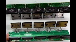 TUTORIAL MEMBUAT DRIVER POWER AMPLIFIER 1000 WATT | DENGAN PCB TR FINAL SANKEN ( 5Pair ) [PART-01]