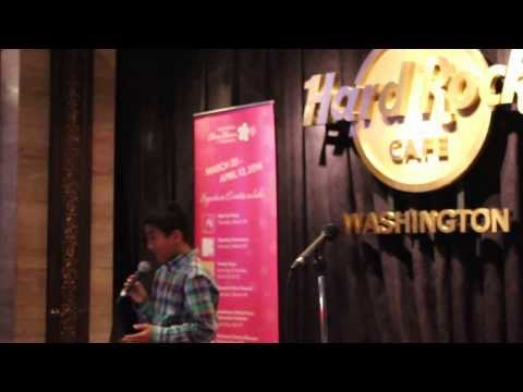 Justin Pineda Fronda @ NCBF Sing Into Spring Live Audition (01-27-14)