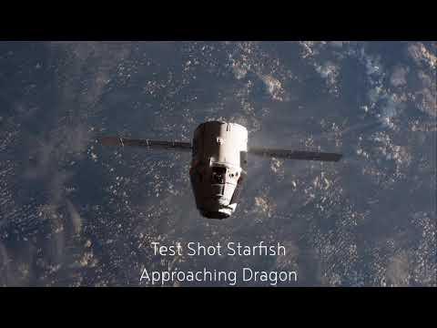Test Shot Starfish - Approaching Dragon