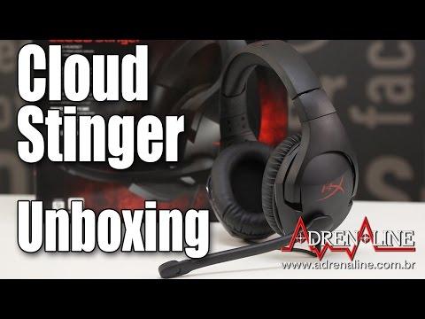 Unboxing do HyperX Cloud Stinger: um headset novo por R$ 300