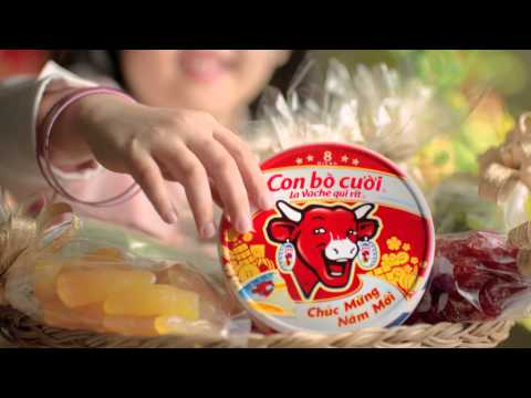 The Laughing Cow Cheese - Con Bo Cuoi - Tet 2014