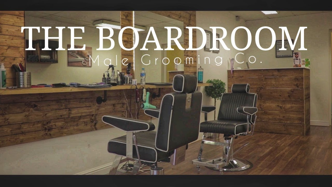 Desain Barbershop Minimalis Barbershop Promo The Boardroom Male Grooming Co