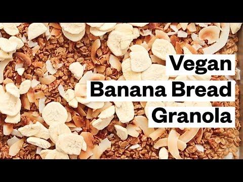 Vegan Banana Bread Granola
