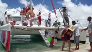 Catamaran Cruise Ile Aux Cerfs - Taxi Service Mauritius