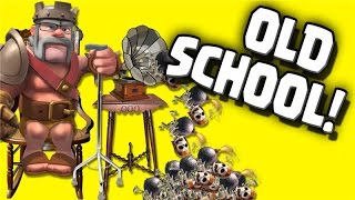 "Clash of Clans ""Old School Gowipe"" No Jump Spell? No Problem!"