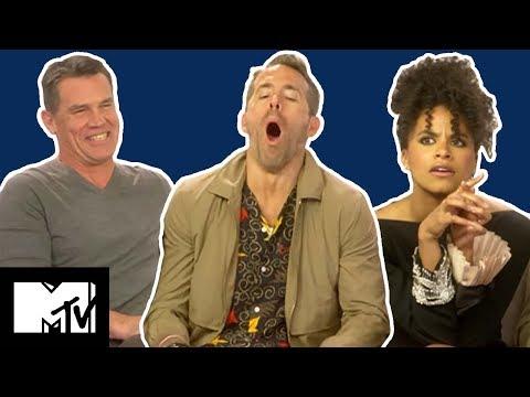 Deadpool 2 Cast Play GUESS THE UK SLANG   Slanguage   MTV Movies