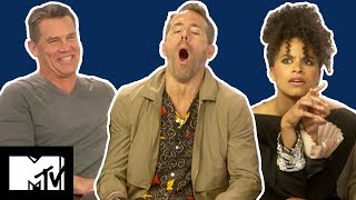 Deadpool 2 Cast Play GUESS THE UK SLANG | Slanguage | MTV Movies