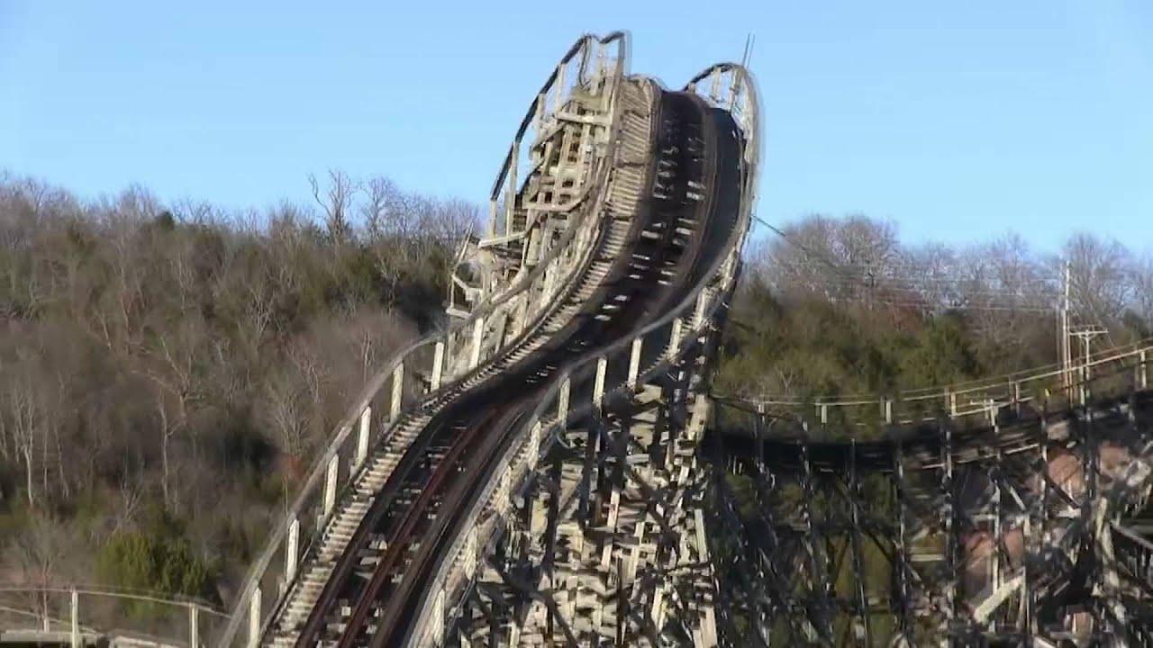 Roller Coaster Demolition : The ozark wildcat roller coaster demolition celebration