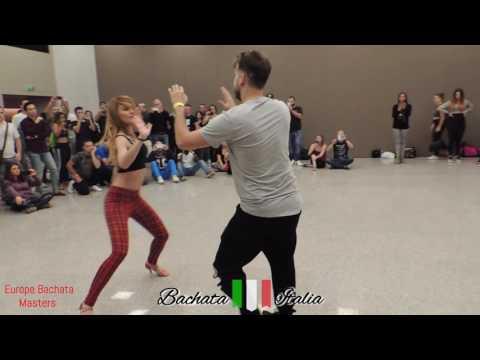 Maurizio e Miriana - Dario e Sara - musica karaoke ∫Europe Bachata Masters 2016∫