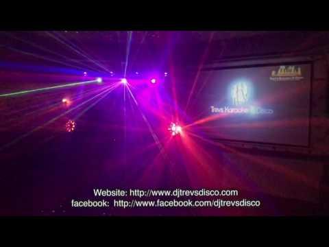 2017 Disco Setup Trev's Karaoke And Disco at Ighten Mount Bowling Club Burnley