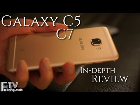 Samsung Galaxy C7 & C5 In-depth Review & Comparison!