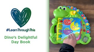Dino's Delightful Day Book | #LearnThroughThis with Tiffany