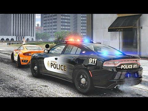 GTA 5 MODS LSPDFR 967  - CITY PATROL!!! (GTA 5 REAL LIFE PC MOD)