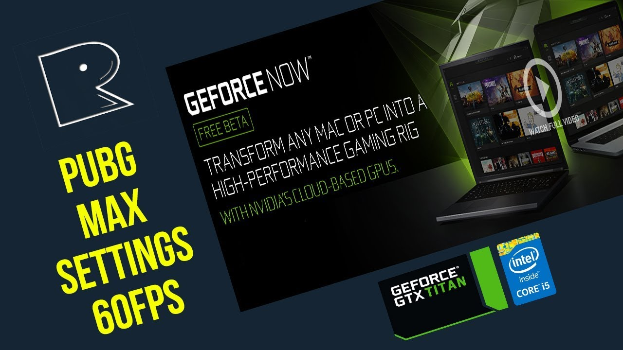 Geforce Now Beta First Impression PUBG Tested !
