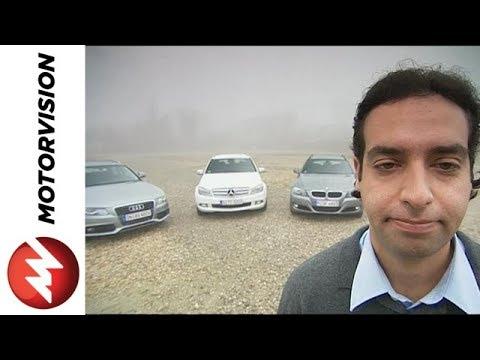 Mercedes C-class vs. Audi A4 vs. BMW 3 series