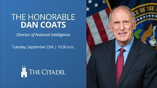 The Honorable Dan Coats | 2018 Intelligence and Cyber Security Conference