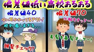 【ゆっくり茶番】偏差値44ぐらいの高校に通っていた主がお送りする、偏差値低い高校あるある( ;∀;)www thumbnail