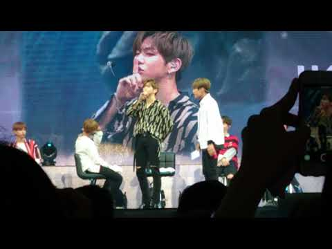 170922 Wanna One Singapore fanmeet Talent Time (Part 2)