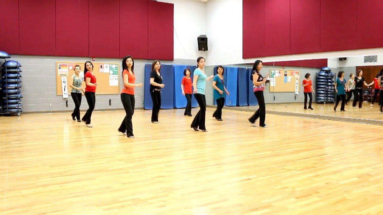 On A Roll - Line Dance (Dance & Teach in English & 中文) - YouTube