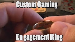 My Custom Gaming Engagement Ring