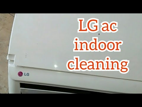 cleaning indoor ac LG