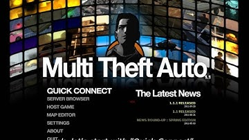 [MTASA] Multi Theft Auto San Andreas - How to use MTA HD