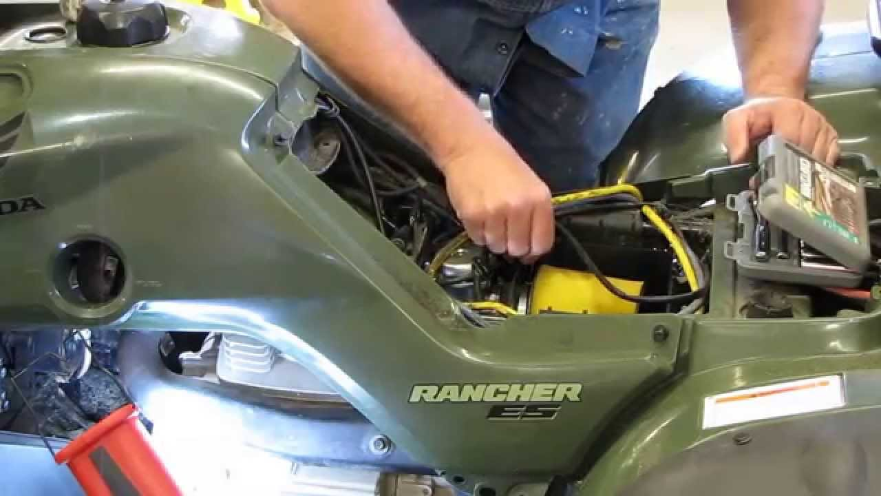 hight resolution of honda rancher trx 350 te replacing the starter by kvusmc pt 1 youtube further 2004 honda rancher 400 on honda rancher engine diagram
