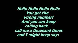 Fabian Buch - Hello hello (with lyrics)