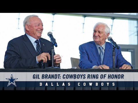 A Day to Remember for Gil Brandt | Dallas Cowboys 2018