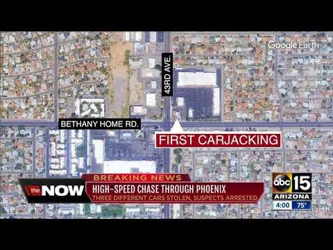 Suspect in custody after Phoenix police pursuit, police K-9 killed