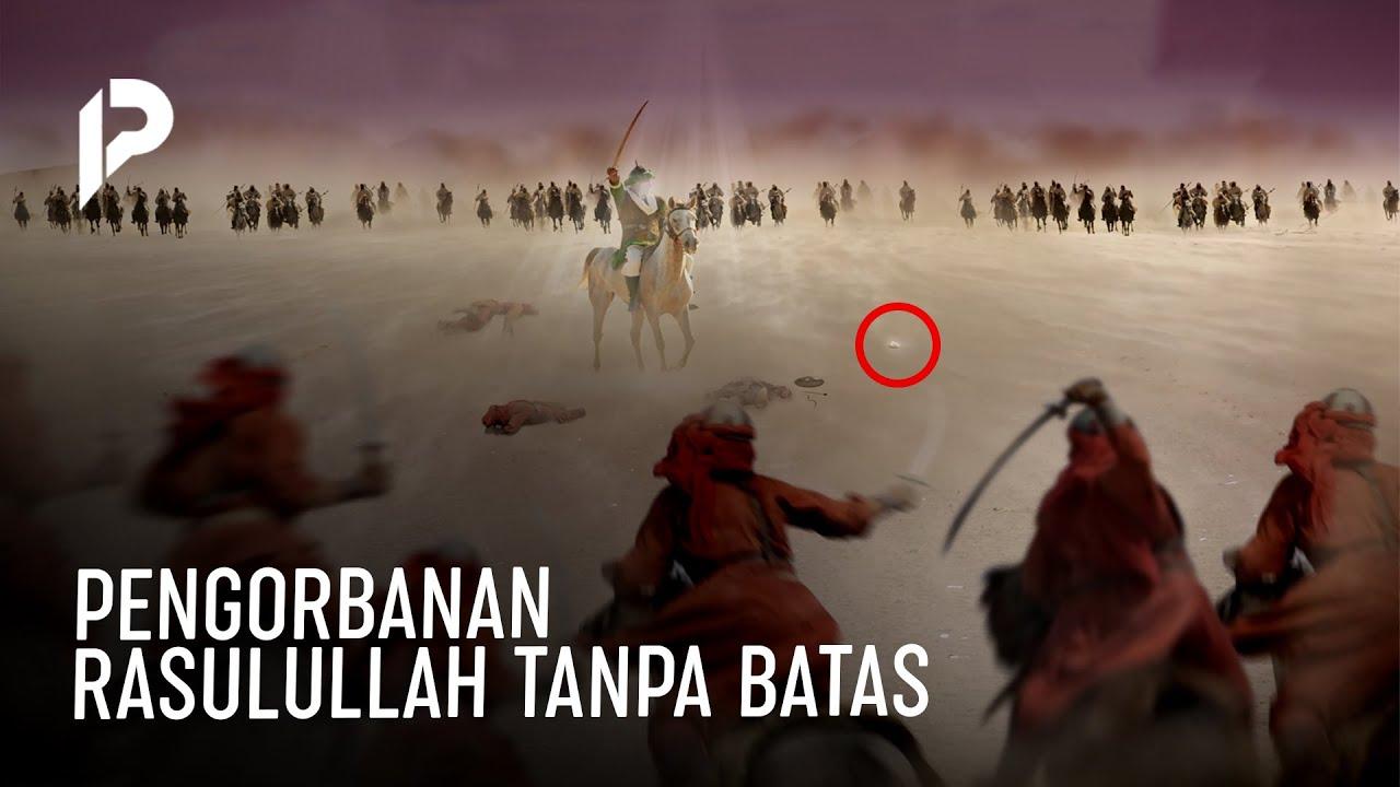 Gigi Sampai Copot! Perjuangan Rasullulah di Perang Uhud Membuat para Sahabat Kaget Melihatnya..