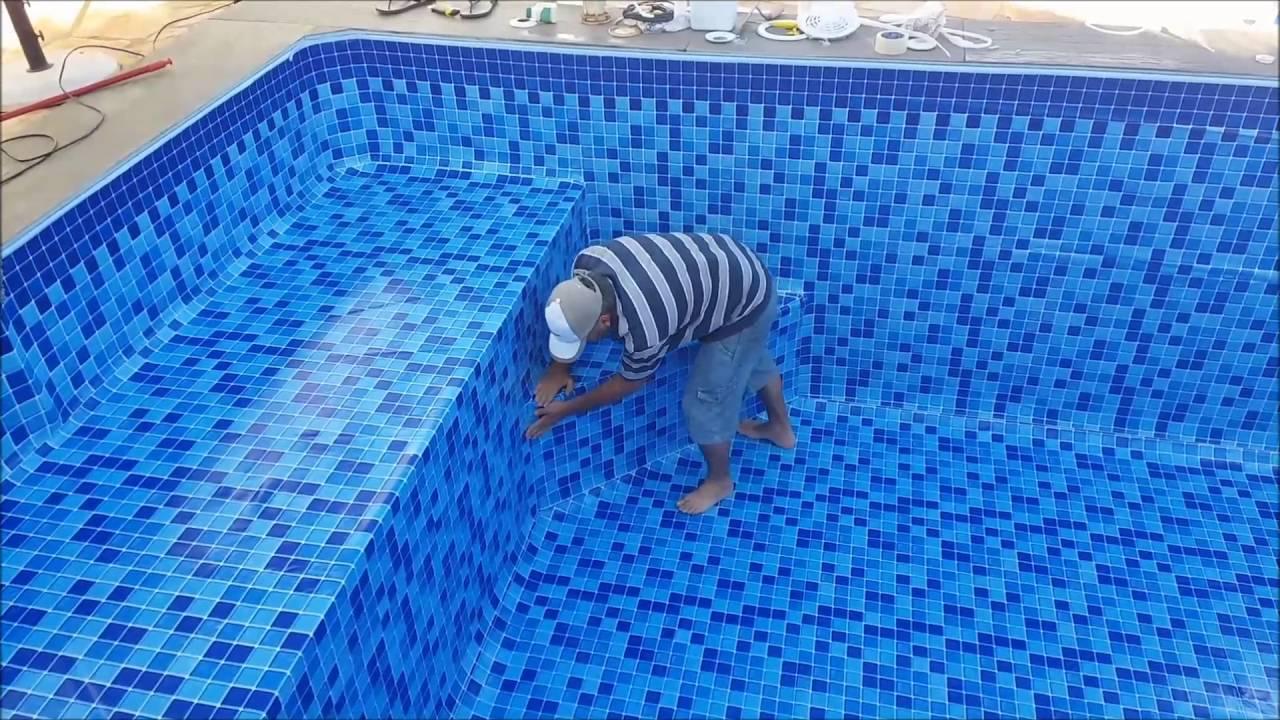 Como instalar uma piscina de vinil 23  YouTube