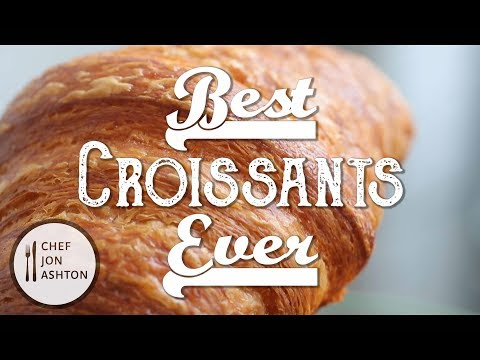 How To Make Homemade Croissants - The Best Croissant Recipe in America !