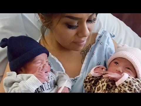 Newborn Twins Born In Different Years