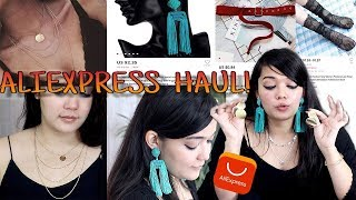 ALIEXPRESS HAUL | Jewellery, Accessories and more | Starting Rs 40 !!