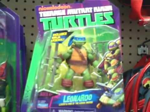 2012 Teenage Mutant Ninja Turtles Toys At Toys R Us