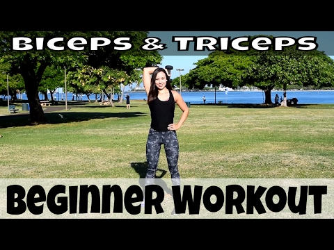 Bicep and Tricep Beginner Arms Workout