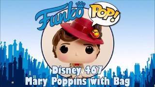 Mary Poppins Returns Mary Poppins with Bag Funko Pop unboxing (Disney 467)