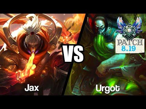 Vidéo d'Alderiate : [FR] JAX VS URGOT - MON AVIS SUR TRYNDA - 8.19 - DIAMANT 1