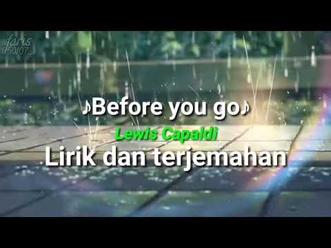 lirik-lagu-before-you-go---lewis-capaldi,-lirik-dan-terjemah