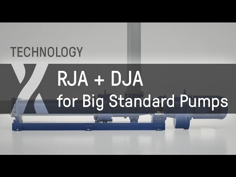 Maintenance Technology: Große Standardpumpen  - Rotor Joint Access (RJA) + Drive Joint Access (DJA)
