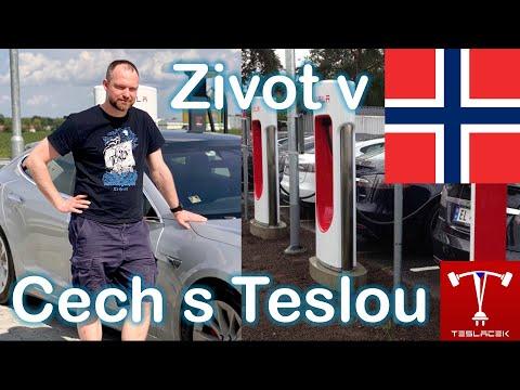 #198 Martin Průša, Čech žijící v Norsku s Teslou Model S P90D | Teslacek