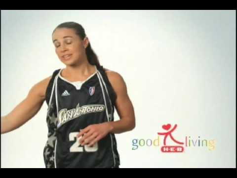 H-E-B Silver Stars Good Living Tips With Becky Hammon