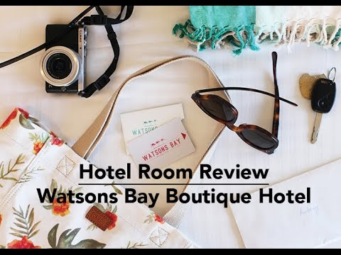 Hotel Room Review: Watsons Bay Boutique Hotel Sydney, Australia