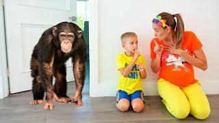 Vlad Ve Niki Yeni Pet Istiyor çocuklar Için Komik Hikayeler