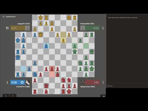 4 player chess #chess.com Strategy : Maintaining Pawn Center #No 4