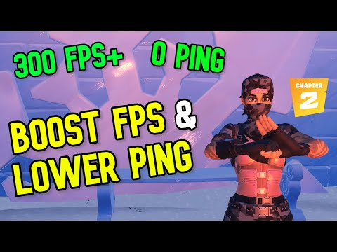 10 Tricks To BOOST FPS / LOWER PING (Fortnite)
